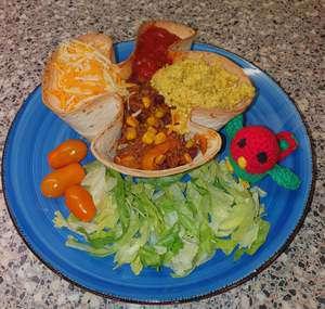 Sannie's Mexicaanse tortilla bakje