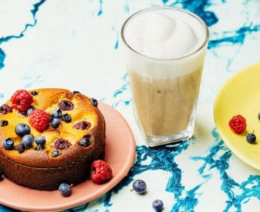 Spaanse cheesecake & ijskoffie