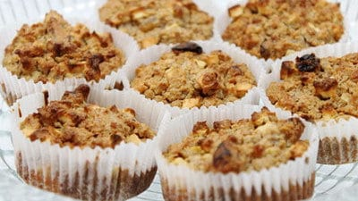 Appel-havermout muffins