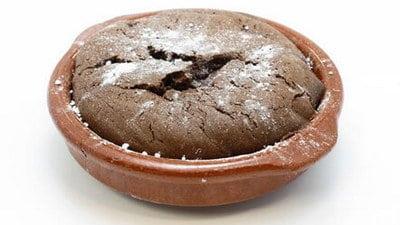 Chocoladepotje met speculaaskruiden