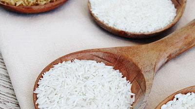 Gestoomde rijst