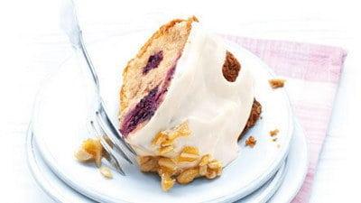 Yoghurtcake met bessen