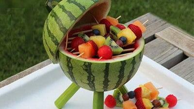 Fruitbarbecue