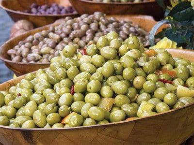 Gemengde olijven