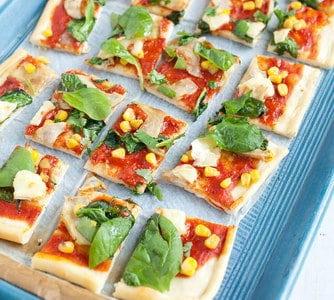 Pizza Verdure met artisjok en brie