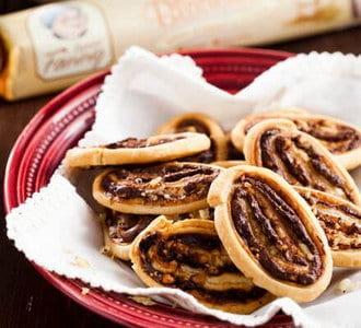 Koekjes met hazelnoot-chocolade