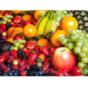 Gerecht met fruit