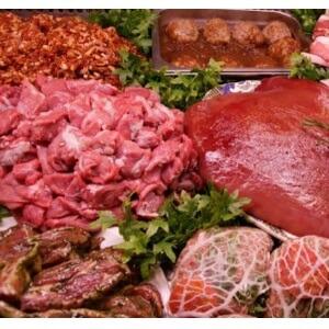 Met vlees