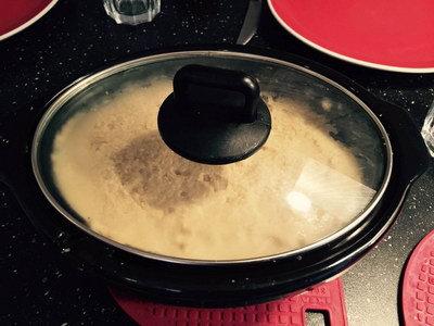 Bloemkoolpuree met knoflook