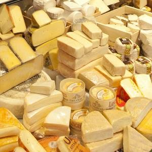 Gerechten met kaas