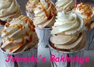 Latte machiato cupcakes met karame