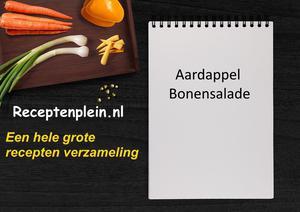 Aardappel Bonensalade