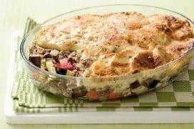 Aardappel groenteschotel