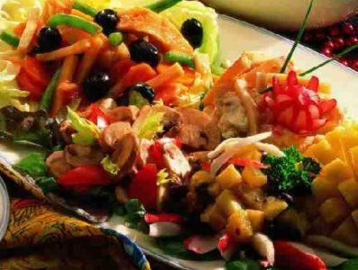 Aardappelsalade met gerookte paling