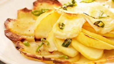 Aardappeltaartjes met brie