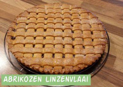Abrikozen Linzenvlaai