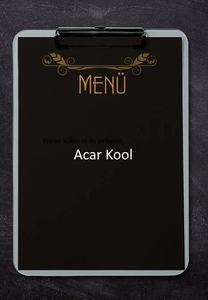 Acar Kool