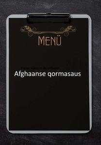 Afghaanse qormasaus