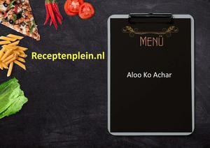 Aloo Ko Achar