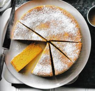 Amandel-sinaasappeltaart