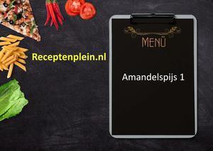 Amandelspijs 1