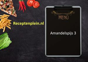 Amandelspijs 3