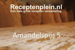 Amandelspijs 5