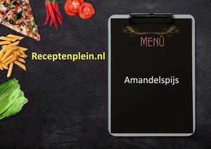 Amandelspijs