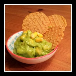 Avocado Knoflook Creme