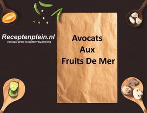Avocats Aux Fruits De Mer