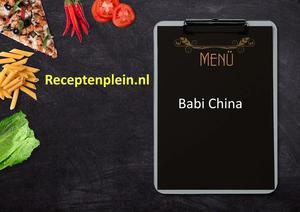 Babi China