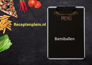 Bamiballen