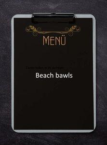 Beach bawls