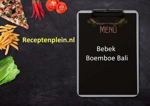Bebek Boemboe Bali