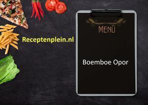Boemboe Opor