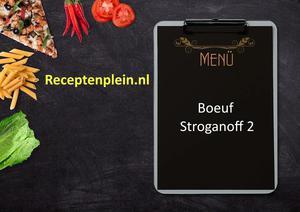 Boeuf Stroganoff 2