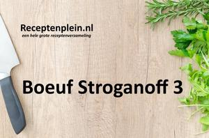 Boeuf Stroganoff 3