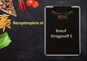 Boeuf Stroganoff 5