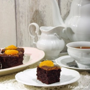 Brownies met Sinaasappel marmelade