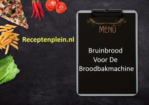 Bruinbrood Voor De Broodbakmachine