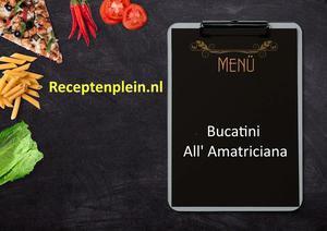Bucatini All Amatriciana