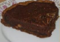 Chocolade walnotentaart