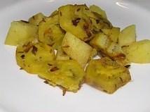 Groene bananencurry