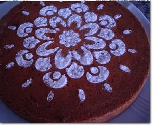 Cake met dadels en noten