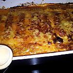 Cannellonis à la Bolognaise en chorizo