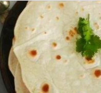 Chapati of tortilla's
