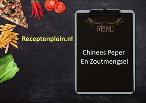 Chinees Peper En Zoutmengsel