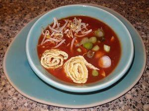 Chinese tomatensoep a la Sandra