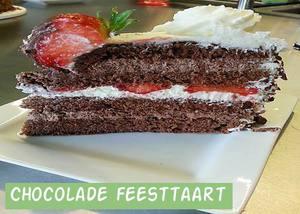 Chocolade Feesttaart