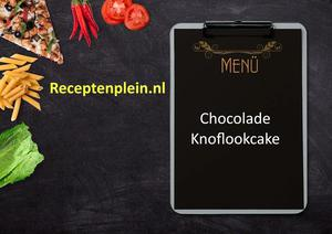 Chocolade-Knoflookcake